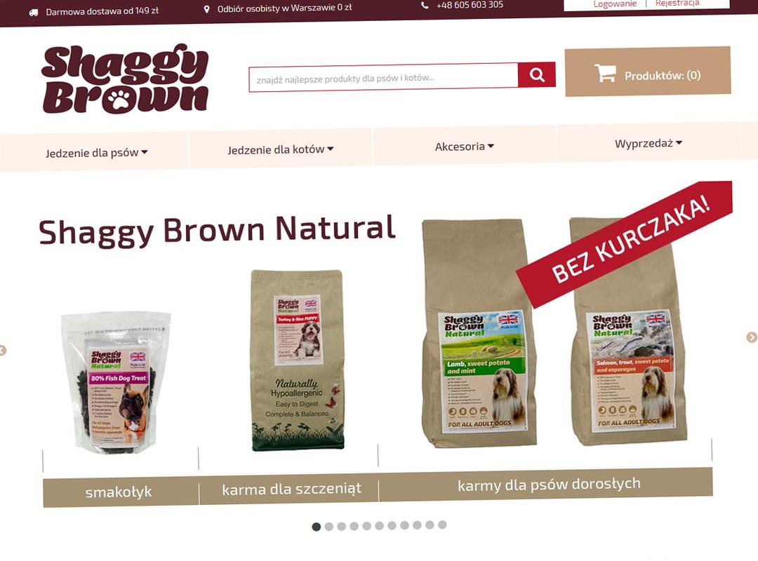 ShaggyBrown.pl – redesign